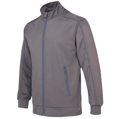 UVJ03 Full Moon Anti-Odor Zip-Up Jacket light grey (2)