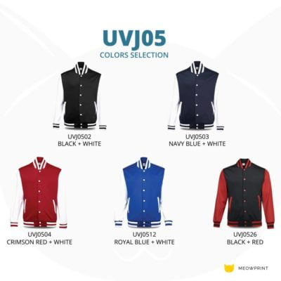 UVJ05 Anti Odor Varsity Jacket 2019 20 catalogue 400x400 - UVJ05 Anti-Odor Varsity Jacket