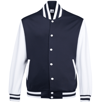UVJ05 Anti Odor Varsity Jacket navy 3 400x400 - UVJ05 Anti-Odor Varsity Jacket
