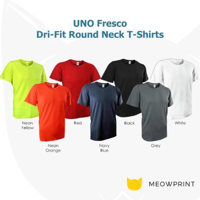 UNO Fresco Dri-Fit Round Neck T-Shirts 2020 catalogue