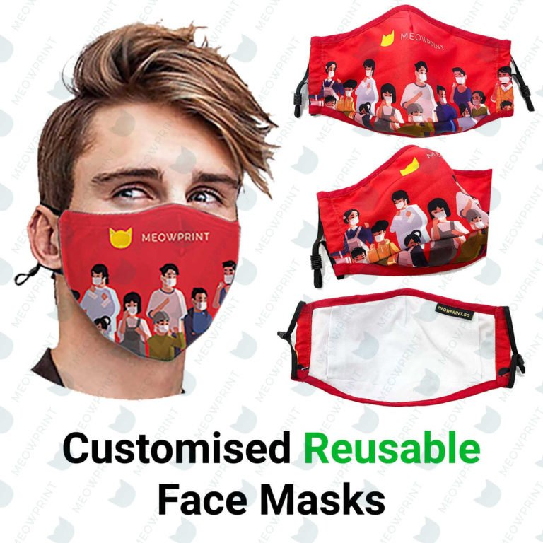 Customised reusable masks catalogue