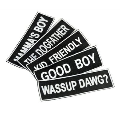 Name Tag Embroidery Patch 2020 catalogue 1