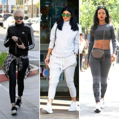 Athleisure trends in celebrities